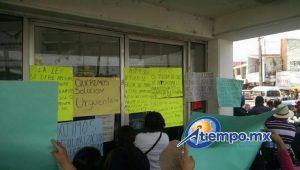 Sobre todo señoras y niños en la manifestación de esta mañana (FOTOS: FRANCISCO ALBERTO SOTOMAYOR)
