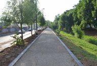 El proyecto se comprende de la construcción de puentes peatonales, la renovación integral de los puentes vehiculares de Sansón Flores, Rubén C. Navarro, Ventura Puente e Isidro Huarte, incluyendo la sustitución de los barandales por otros de acero