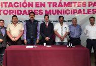 Luna García inauguró de manera formal un curso de capacitación para el manejo y operación de los rellenos sanitarios en Michoacán, y que está dirigido a autoridades municipales