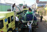 Eduardo Ramírez Canals destacó la coordinación con otras instancias como su homóloga estatal, la Cruz Roja Mexicana en Morelia y los Bomberos de Tarímbaro para lograr controlar el incendio de manera rápida y oportuna