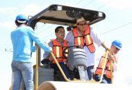 El titular de la SCOP recordó que el programa de Reconstrucción Carretera inició el pasado mes de septiembre con una inversión programada de 786 mdp para reconstruir 271 kilómetros de la Red Estatal más dañada