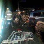 El accidente fue atendido por la ABEM, Protección Civil Municipal y la División de Seguridad Regional de la Policía Federal (FOTO: FRANCISCO ALBERTO SOTOMAYOR)
