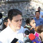 En total la peatonalización del Centro Histórico de Morelia tendrá una inversión aproximada de 25 millones de pesos, aunado a estos trabajos se realiza la ampliación de banquetas (FOTO: Mario Rebollar)