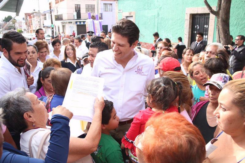 El Jefe de la Comuna Morelia, hizo hincapié en que desde un inicio giró instrucciones precisas para atender cada una de las solicitudes de los morelianos