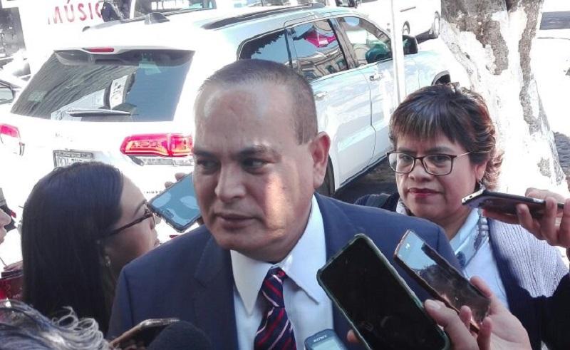 """Respecto a la reunión en la que se instaló la mesa de seguridad para Morelia, Godoy Castro dijo que esta acción """"sienta las bases para que los compañeros que traen temas de carácter operativo den mejores resultados"""""""