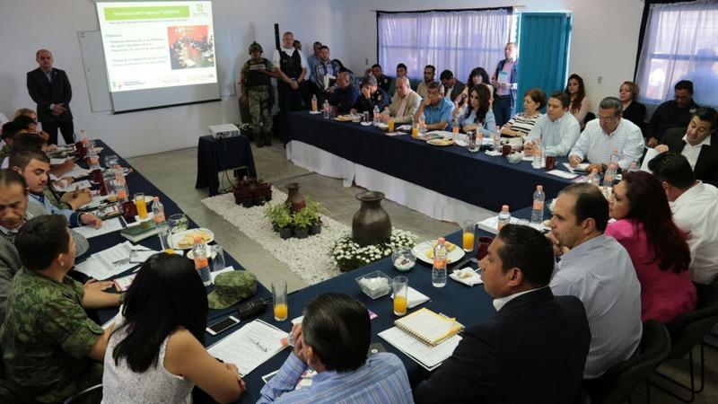 En ambas Mesas de Seguridad y Justicia participaron los alcaldes de esos municipios, coordinadores, fiscales regionales, diputados, sociedad civil y representantes académicos