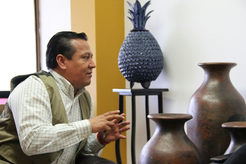 """""""Nuestro gobernador es un hombre visionario que está saneando la estructura orgánica de la administración pública, sus finanzas, acciones y programas"""", dijo Martín García Avilés"""