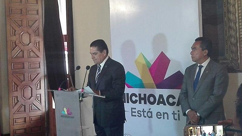 Entre los anuncios hechos por el mandatario estatal destaca el de Elías Ibarra Torres como nuevo titular de la Secretaría de Salud en Michoacán