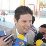 En otro tema, Martínez Alcázar aplaudió la decisión del gobernador de extinguir el Cereso de Morelia; espera que se haga un gran proyecto para aprovechar ese espacio (FOTO: MARIO REBOLLAR)