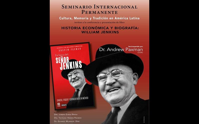 La conferencia tendrá lugar en el auditorio de la Facultad de Historia el próximo viernes 7 de abril a las 12 del día, con entrada libre