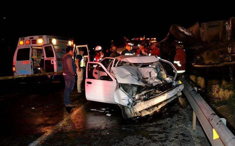 El accidente fue atendido por la ABEM, Cruz Roja, Policía Michoacán, Policía Federal y PGJE