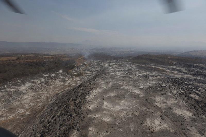 """""""Que no se froten las manos los aguacateros que provocaron este incendio, no vamos a dejar nada en la impunidad, vamos a actuar con todo para que este desastre natural no quede en la impunidad"""", aseguró el titular de la SEMARNACC, Ricardo Luna"""