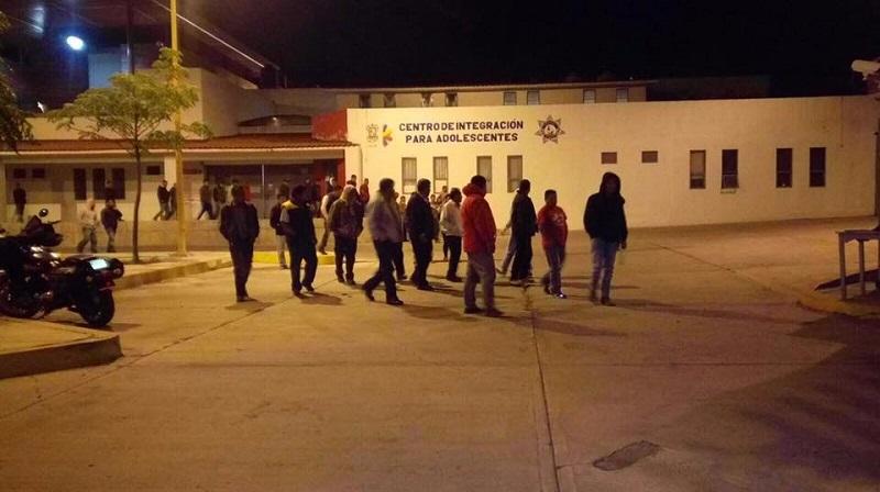 Así, 37 de los 38 detenidos en un autobús robado quedaron libres y sólo con medidas cautelares (FOTO: CORTESÍA)