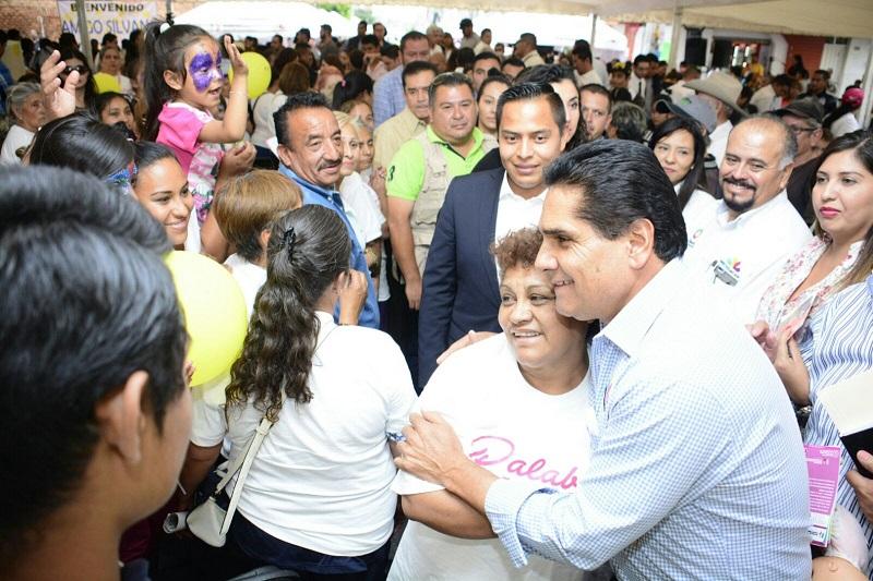 Aureoles Conejo refrenda su compromiso de atender de manera cercana las necesidades de la gente; el gobierno del estado trabaja para lograr un Michoacán con mayor inclusión y justicia social, asegura