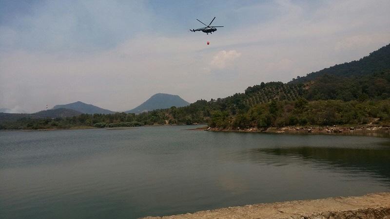Protección Estatal del Estado recalcó que no hay pérdidas humanas, los incendios se controlaron y que se continuará en próximos días con los trabajos en conjunto con el helicóptero de la Policía Federal para agilizar los operativos