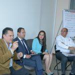 Se contó con la presencia del secretario de Desarrollo Económico de Michoacán, Jesús Melgoza Velázquez y Ricardo Bernal Vargas, Presidente de la AIEMAC