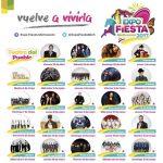 La Expo Fiesta Michoacán 2017 contará con la presencia de artistas de talla nacional e internacional como parte de la cartelera del Teatro Del Pueblo, siendo éste el mejor elenco en la historia de este evento