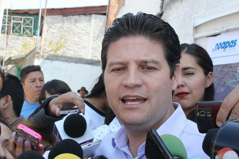 Martínez Alcázar denunció las peleas entre líderes de organizaciones que traban el trabajo del Ayuntamiento de Morelia (FOTO: MARIO REBOLLAR)