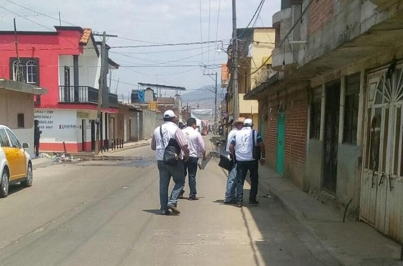 Con las autoridades locales se acordó regresar el martes próximo para continuar brindando apoyo a quienes lo requieran, una vez que concluyan los funerales de las víctimas