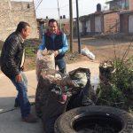 El secretario de Servicios Públicos, José Luis Gil Vázquez, informó a los vecinos los avances que se ha tenido en la materia de alumbrado, y de cómo se va rescatar el área verde