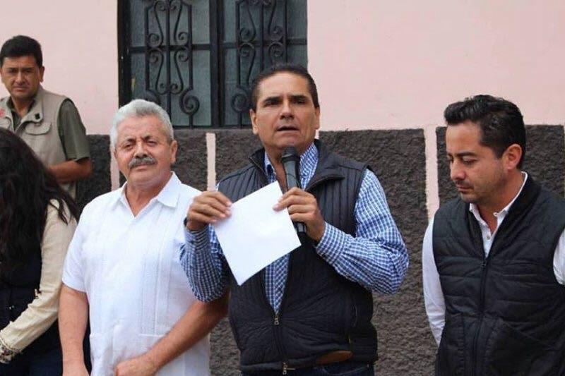 Mejía Arroyo dijo que la Junta de Caminos abandonó la obra de rehabilitación desde hace más de dos meses