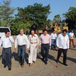 """El líder priista resaltó que """"el proyecto de Ciudad Mujer operará en un terreno de diez hectáreas donado por el Ayuntamiento de Múgica, y beneficiará a mujeres viudas, abandonadas, madres solteras y víctimas de violencia, del sur de Michoacán"""""""