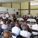 Corona Martínez destacó que para dar seguimiento a las acciones se instalará un Grupo de Coordinación Local en el municipio, con la participación de representantes de los tres niveles de gobierno y organizaciones civiles