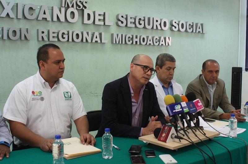 En total 42 mil derechohabientes fueron migrados y se incluirán algunas Tenencias del poniente de la ciudad como Cuto de la Esperanza, Capula, Tacícuaro e Iratzio