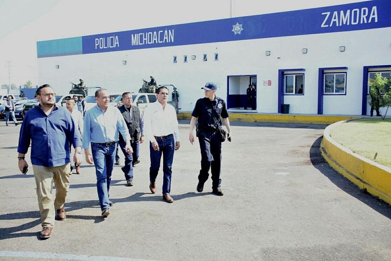 Aureoles Conejo recalcó la importancia de mantener acciones coordinadas para garantizar mejores resultados en esta materia