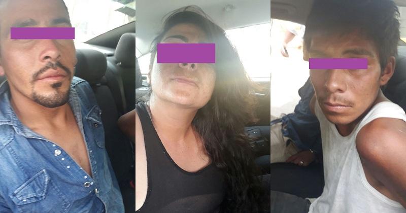 Los detenidos acababan de cometer un asalto en la colonia Félix Ireta