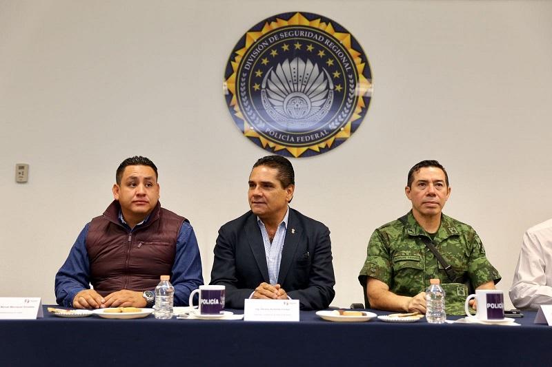 Al respaldar esta decisión del mandatario, las y los integrantes del GCM se pronunciaron por fortalecer las acciones para hacer valer la ley y el Estado de Derecho en la zona de la Meseta Purépecha