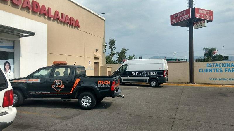 Nuevo asalto a mano armada en una Farmacia Guadalajara de Morelia