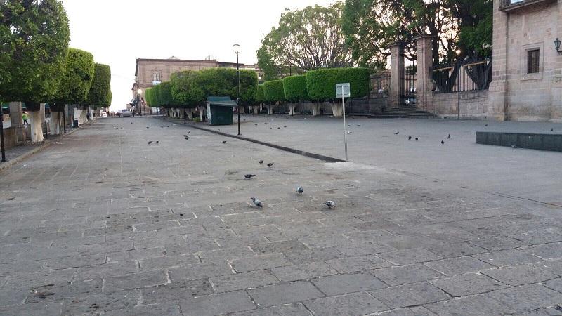 Las faenas de limpieza en las calles principales y las distintas plazas del Centro Histórico se llevaron a cabo posterior a las actividades realizadas, se limpió en puntos específicos como las Plazas Valladolid, Cerrada de San Agustín entre otras, las cuales se pueden apreciar despejadas y limpias