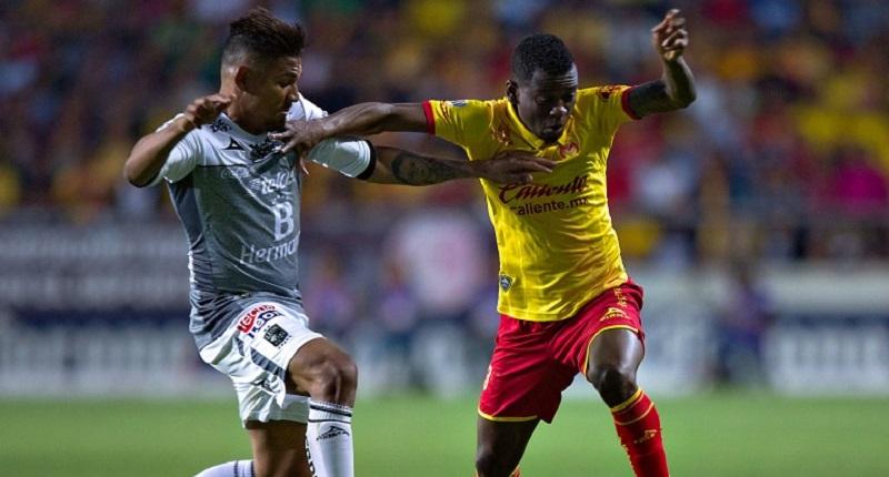 El cuadro de Torrente se adelantó en el marcador desde el minuto 10 con una anotación de Elías Hernández. Con la ventaja, La Fiera se posicionó bien en el fondo y neutralizó los intentos de la Monarquía por empatar el partido (FOTO: IMAGO 7)