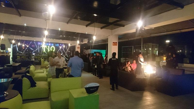 Las acciones operativas se llevaron a cabo en cuatro bares de la capital michoacana denominados Bocanegra, Beer Pong, Roof Galery y Agua Bendita