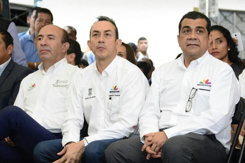 De manera transversal, el Gobierno del Estado busca atender las necesidades de la población en la capital michoacana, destaca Soto Sánchez