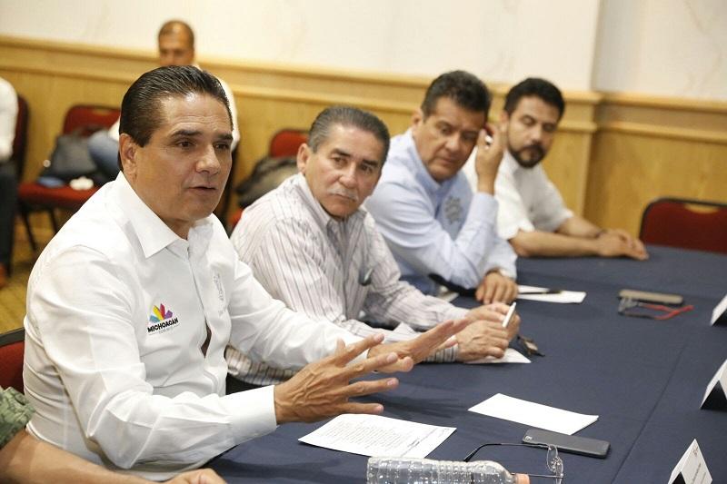 En La Piedad también trabajamos para garantizar la seguridad: Silvano Aureoles