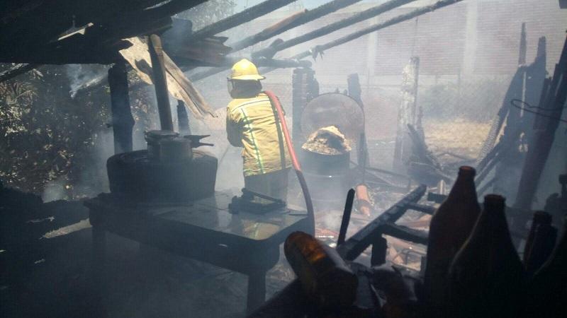 A pesar de los daños materiales no se reportan personas lesionadas ni pérdidas humanas
