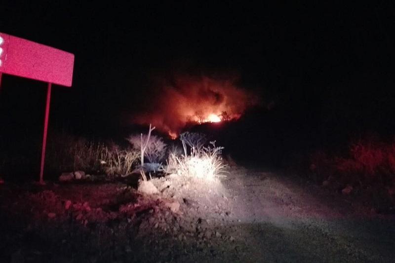 Unidades de Bomberos Municipales de Tarímbaro salieron hacia la zona para combatir el siniestro