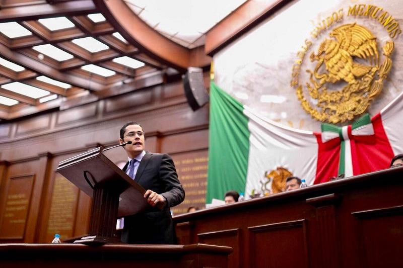 Con reforma al artículo 65 de la Ley Orgánica y de Procedimientos del Congreso del Estado