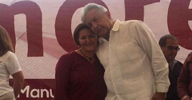 Eva Cadena fue grabada en el momento en que le entregaban fajos de dinero y en el audio se escucha que pide una bolsita para transportar el dinero