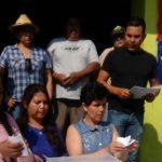 Para la construcción del Telebachillerato 191, con número de clave 16ETH0191J, se consultó a los habitantes si estaban de acuerdo con el nuevo centro, y el resultado fue de 321 votos a favor, 42 en contra y 12 cancelados