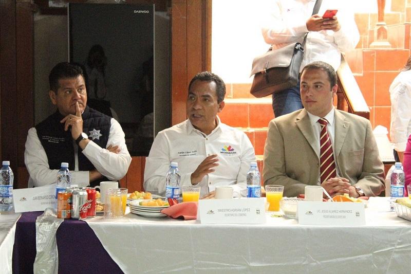 En el marco de la reunión del GCM, los funcionarios hicieron un balance de las labores y alcances emprendidos en los últimos días tanto en el municipio como en la región