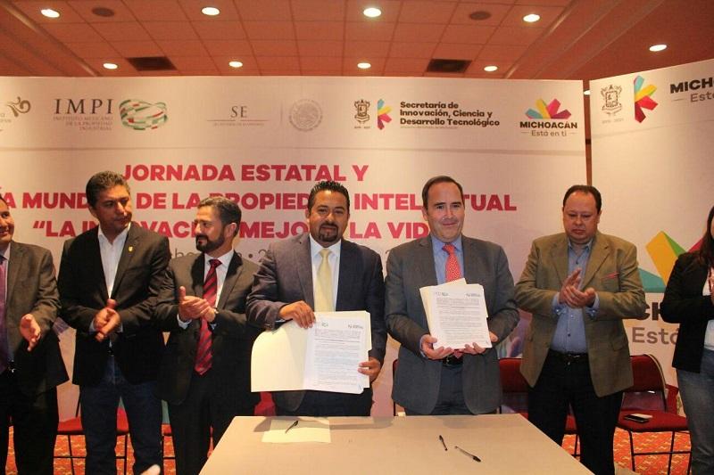 La dependencia estatal se convertirá en espacio de orientación para el registro de marcas, patentes, prototipos o modelos de utilidad, a partir de un convenio con el Instituto Mexicano de la Propiedad Industrial