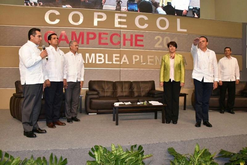Pascual Sigala se comprometió a realizar un trabajo incluyente en el que todas las voces tendrán cabida, con la convicción de construir propuestas que se puedan impulsar en las 32 entidades federativas en favor de los mexicanos