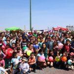 Ernesto Núñez comentó ante los pequeños y sus familias que es necesario apoyar a los niños de este país y llamó a reconstruir el tejido social, indicó que sólo de esta forma se atraerá el bienestar del estado