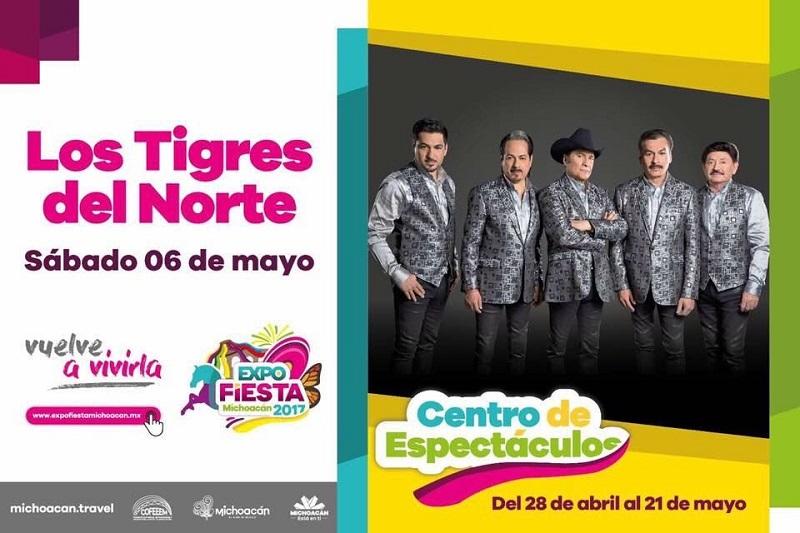 La información oficial sobre la Expo Fiesta Michoacán 2017 sólo es difundida en el portal de Internet http://www.expofiestamichoacan.mx/, en el Twitter @ExpoFiestaMich y en el perfil de Facebook www.facebook.com/ExpofiestaMich