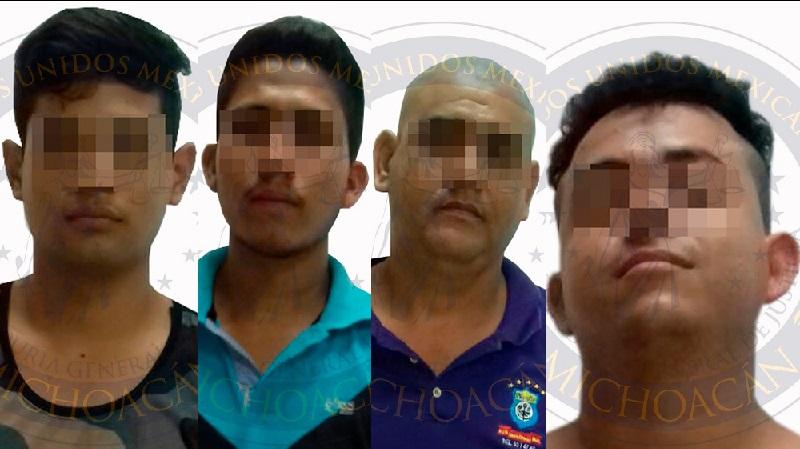El personal de la Fiscalía continúa con las investigaciones, toda vez que se ha detectado la relación de los imputados en otros hechos registrados en Lázaro Cárdenas