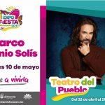 El cantautor ofrecerá un concierto gratuito esta noche en el Teatro del Pueblo de la Expo Fiesta Michoacán; el boleto de acceso al Recinto Ferial, a sólo 40 pesos