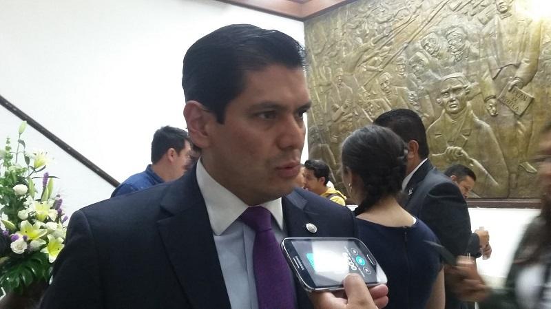 Núñez Aguilar presentó una propuesta de punto de acuerdo para citar a comparecer al titular de la Semarnacc, Ricardo Luna, quien mostró disposición (FOTO: ALEJANDRA ORTEGA)